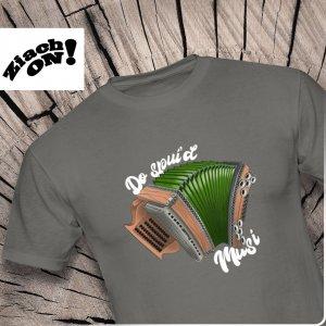 Steirische Harmonika T-Shirts do spui'd Musi