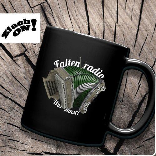 Quetschn Tasse Faltenradio